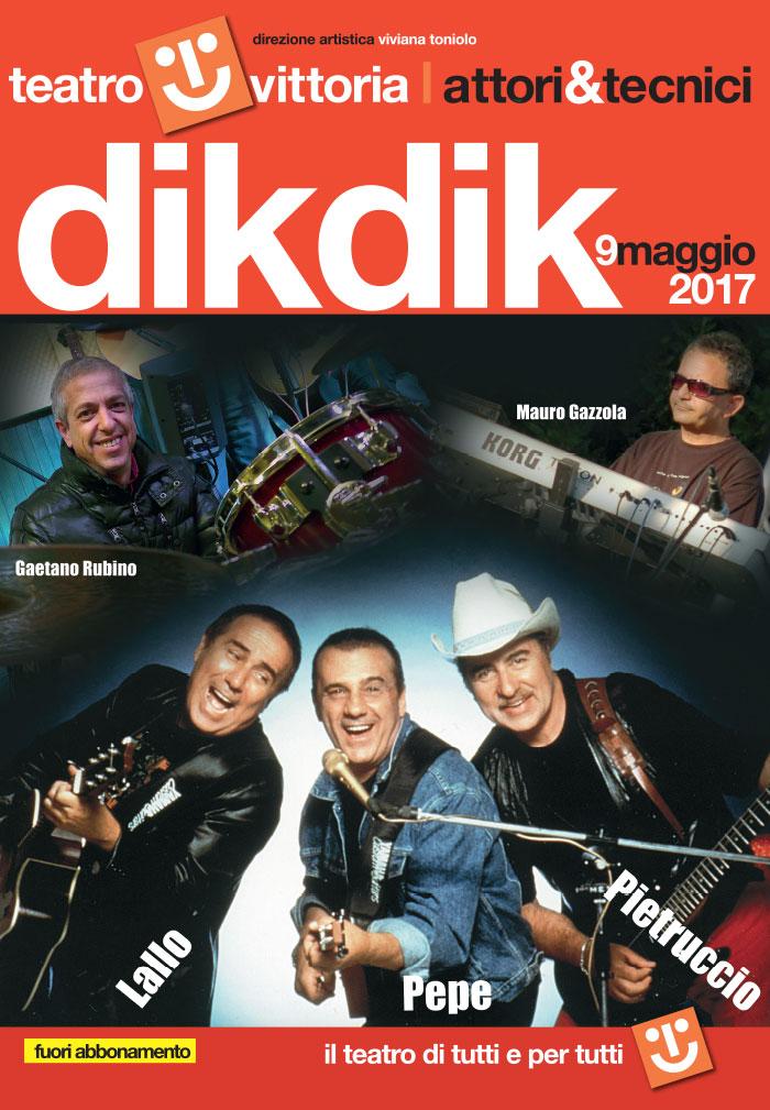 I Dik Dik in concerto al Teatro Vittoria