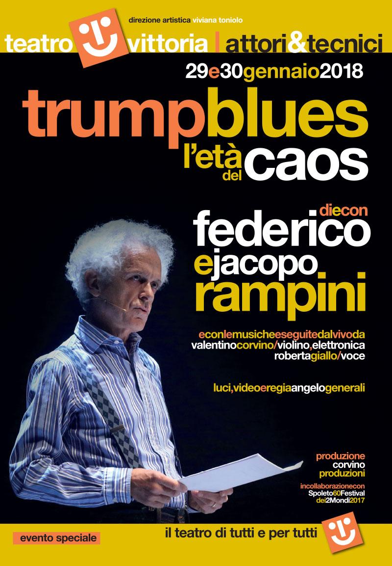 Trump Blues in scena al Teatro Vittoria